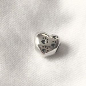 Pandora My Sweet Pet Heart Charm